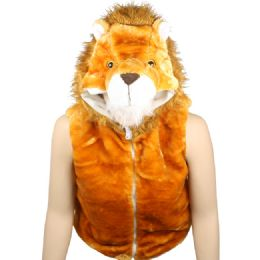 12 Units of Kids Cute Lion Jacket With Hat - Kids Vest