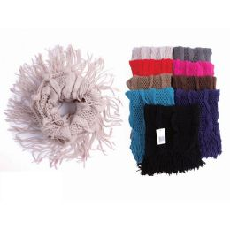 72 Units of LADIES FASHION INFINITE SCARF - Winter Scarves