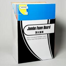 55 Units of Foam Board Jumbo - Poster & Foam Boards