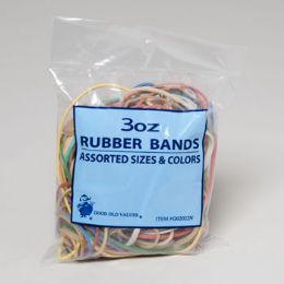 72 Units of Rubber Bands 3oz Bag - Rubber Bands