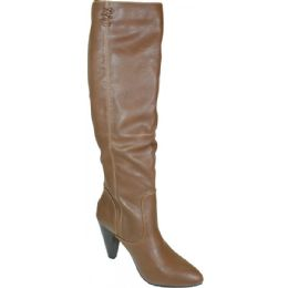12 Units of Ladies Long Fashion Boot Brown Color - Women's Boots
