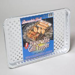 120 Units of Aluminum Grill Topper - BBQ supplies