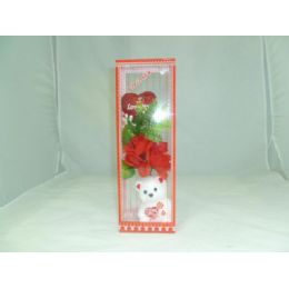 48 Units of Bear Rose Gift Set - Valentines
