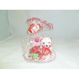 12 Units of Valentines Bear + Flower With Towel - Valentines