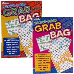 120 Units of Word Find Grab Bag 2 Asst Floor Display - Crosswords, Dictionaries, Puzzle books