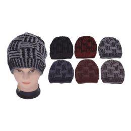 60 Units of KNIT HATS-2 TONE - Fashion Winter Hats