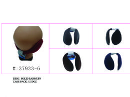 144 Units of Assorted Solid Color Earmuff - Winter Helmet Hats