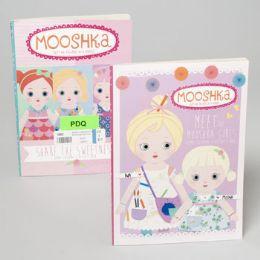 24 Units of Coloring/activity Book Mooshka Book 80 Pages 2 Asst Titles - Coloring & Activity Books