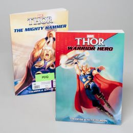 24 Units of Coloring/activity Book Thor Classic 96pg 2ast In 24pc Pdq - Coloring & Activity Books