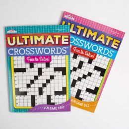 24 Units of Crossword Puzzle Book Ultimate 2asst - Crosswords, Dictionaries, Puzzle books