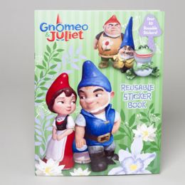 72 Units of Gnomeo And Juliet Sticker Book - Coloring & Activity Books