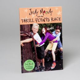 200 Units of Judy Moody Book The Thrill Points Race - Coloring & Activity Books