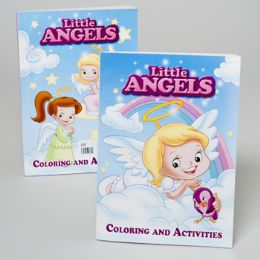 24 Units of Little Angels Coloring Book 2 Asst - Coloring & Activity Books