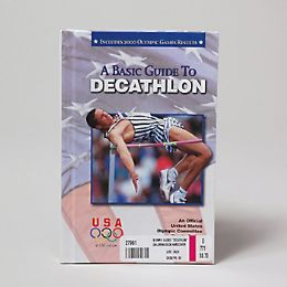 """30 Units of Olympic Guides """"decathlon"""" Childrens Book Hardcover - Coloring & Activity Books"""
