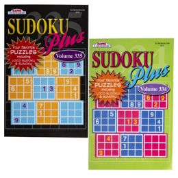 144 Units of Puzzle Book Sudoku 3 Asst In 144pc Floor Display 128pg - Crosswords, Dictionaries, Puzzle books