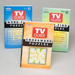 144 Units of Puzzle Book Tv Guide 2 Asstd In 144pc Floor Display - Crosswords, Dictionaries, Puzzle books