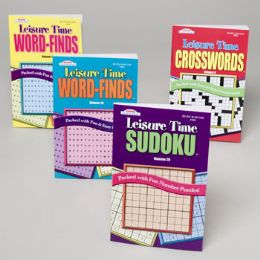 144 Units of Puzzle Digest Leisure Time 128 Pgs In 144 Ct Floor Display 4asst Ppd - Crosswords, Dictionaries, Puzzle books