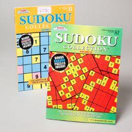 120 Units of Sudoko Puzzle Book Collection 2 Asst 120pc Floor Disp - Crosswords, Dictionaries, Puzzle books