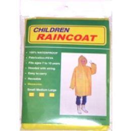 48 Units of Children Rain Coat - Umbrellas & Rain Gear