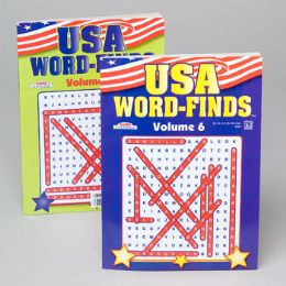 96 Units of Word Find Usa 96pg 2 Title In 24pc Counter Display - Crosswords, Dictionaries, Puzzle books