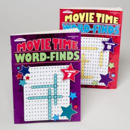 120 Units of Word Finds Movie Time 2 Titles - Crosswords, Dictionaries, Puzzle books