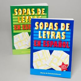 24 Units of Word Finds Spanish 96 Page 2 Asst In Pdq - Crosswords, Dictionaries, Puzzle books