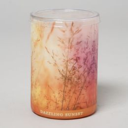 24 Units of Candle 15 Oz Glass Jar Dazzling Sunset Enlighten Fall - Candles & Accessories