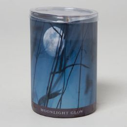24 Units of Candle 15 Oz Glass Jar Moonlight Glow - Candles & Accessories
