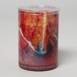 24 Units of Candle 15 Oz Glass Jar Warm Woodland Creek - Candles & Accessories