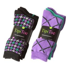 180 Units of Tipi Toe Women's Crew Socks - Women's Toe Sock