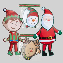 180 Units of Cutout Jointed 36in - Christmas Novelties