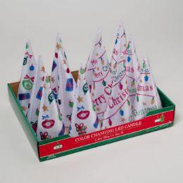 48 Units of Led Light Up Cone Tree - Christmas Novelties