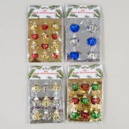 144 Units of Ornament Jingle Bells - Christmas Ornament