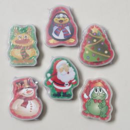 192 Units of Playing Cards Christmas 6asst Shapes PlAstic Case - Christmas Novelties