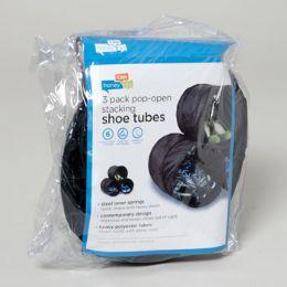 40 Units of Black Shoe Tubes - Footwear Accessories