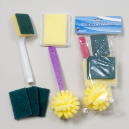 96 Units of Cleaning Set 6pc - Cleaning Products
