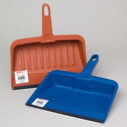 24 Units of Dust Pan W/rubber Lip - Dust Pans