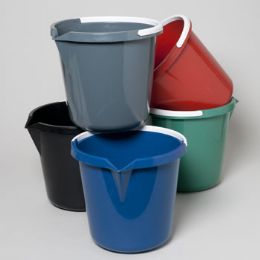36 Units of Pail With Plastic Handle & Spout 3 Gallon - Cleaning Products