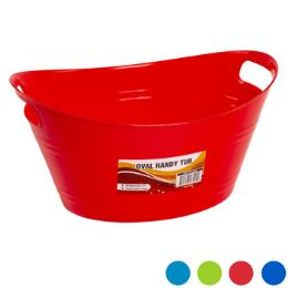 48 Units of Oval Basket With Double Handle - Baskets