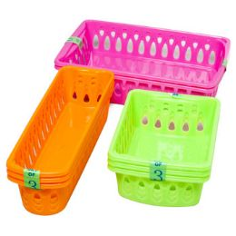 75 Units of Baskets 3 Sizes 6 Colors - Baskets