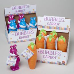 108 Units of Bubbles In Carrot Or Rabbit Shaped BottlE