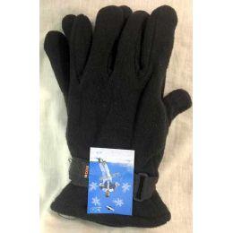 60 Units of Fleece Man Gloves - Fleece Gloves