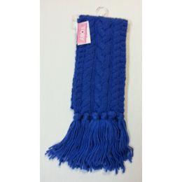 36 Units of Ladies Fashion Scarves Blue - Womens Fashion Scarves