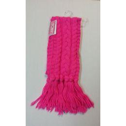 36 Units of Ladies Fashion Scarves Pink - Womens Fashion Scarves