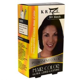 48 Units of Kraze Hair Color Black - Hair Products
