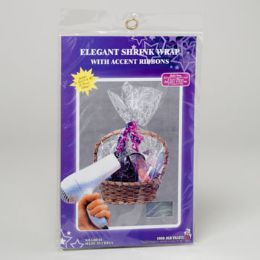 96 Units of Basket Shrink Wrap - Gift Wrap