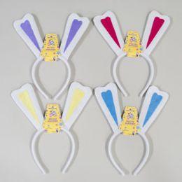 288 Units of Bunny Ear Headband Heart Shape Felt Ear - Easter