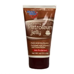 72 Units of HS Creamy Petroleum Jelly 4.5oz Cocoa Butter - Skin Care