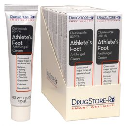 72 Units of PC Drug Rx Athlete's Feet 1oz - First Aid and Bandages