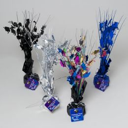 96 Units of Graduation Tinsel Centerpiece/ Balloon Weight - Graduation